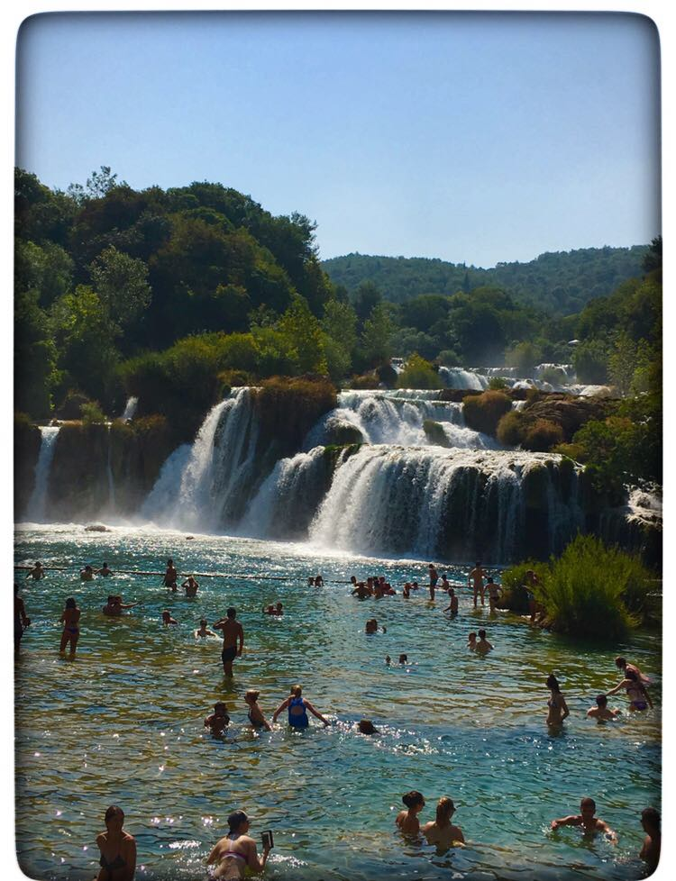 KrKa waterfalls | The Ultimate Croatia itinerary featured by top international travel blogger, Tracy's Travels in Time