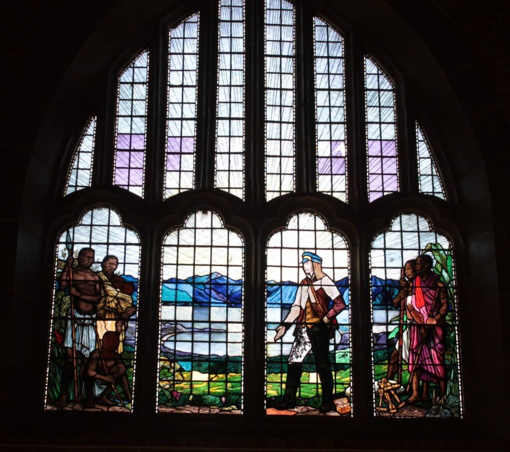 Livingstonia stained glass window