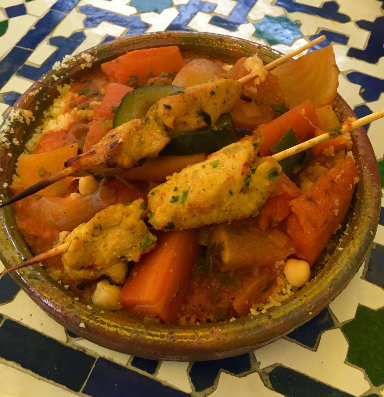 Moroccan food in Paris