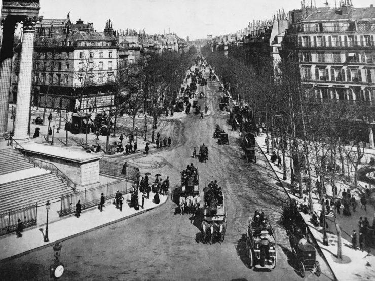 paris montmartre in the 1800s