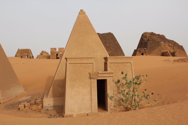 The pyramids of Sudan