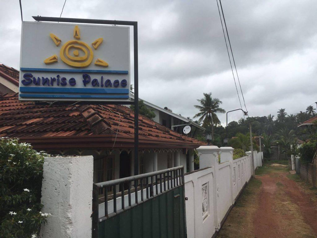 sunrise-palace airbnb in sri lanka