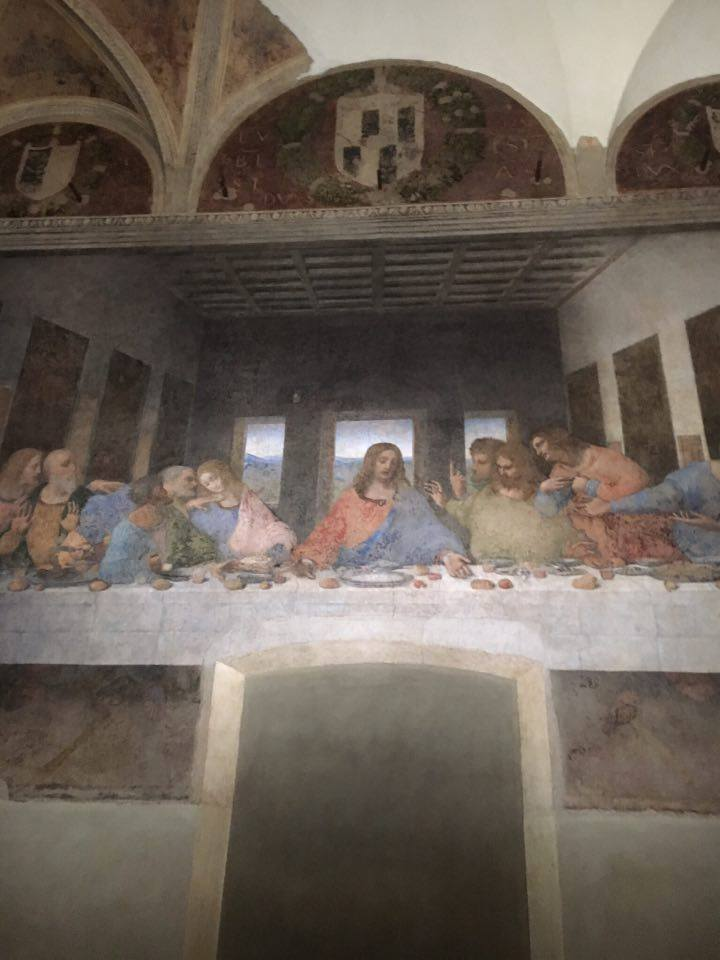 The last supper - TRAVEL TIPS FOR ITALY