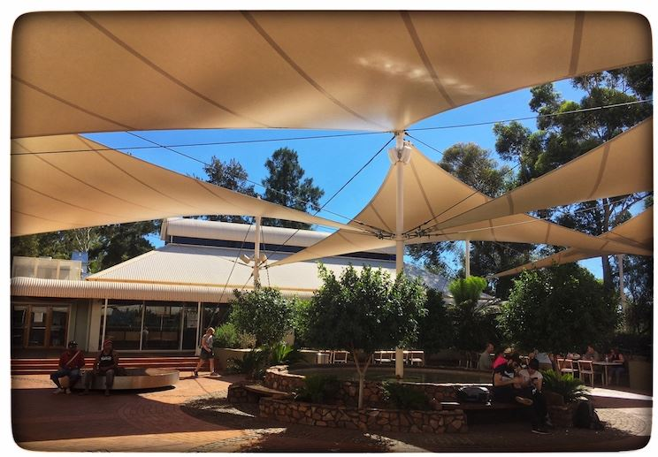 The Town Square at Ayers Rock Resort