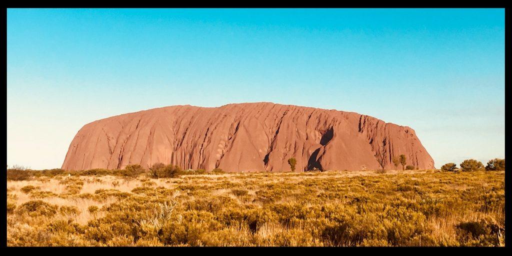 Visiting Uluru the red heart of Australia
