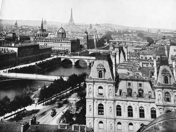 a view from the past - Paris in the 1800s