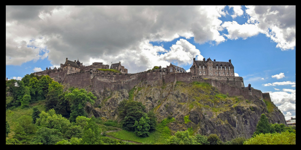Edinburgh one of the UNESCO World Heritage Sites in Northern England and Southern Scotland