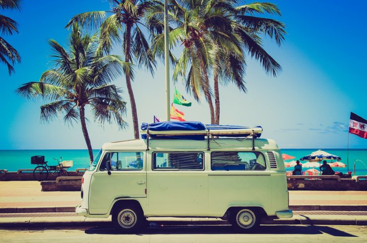 VW camper van | 15 Things to Know Before Moving to Australia featured by top international travel blog, Tracy's Travels in Time