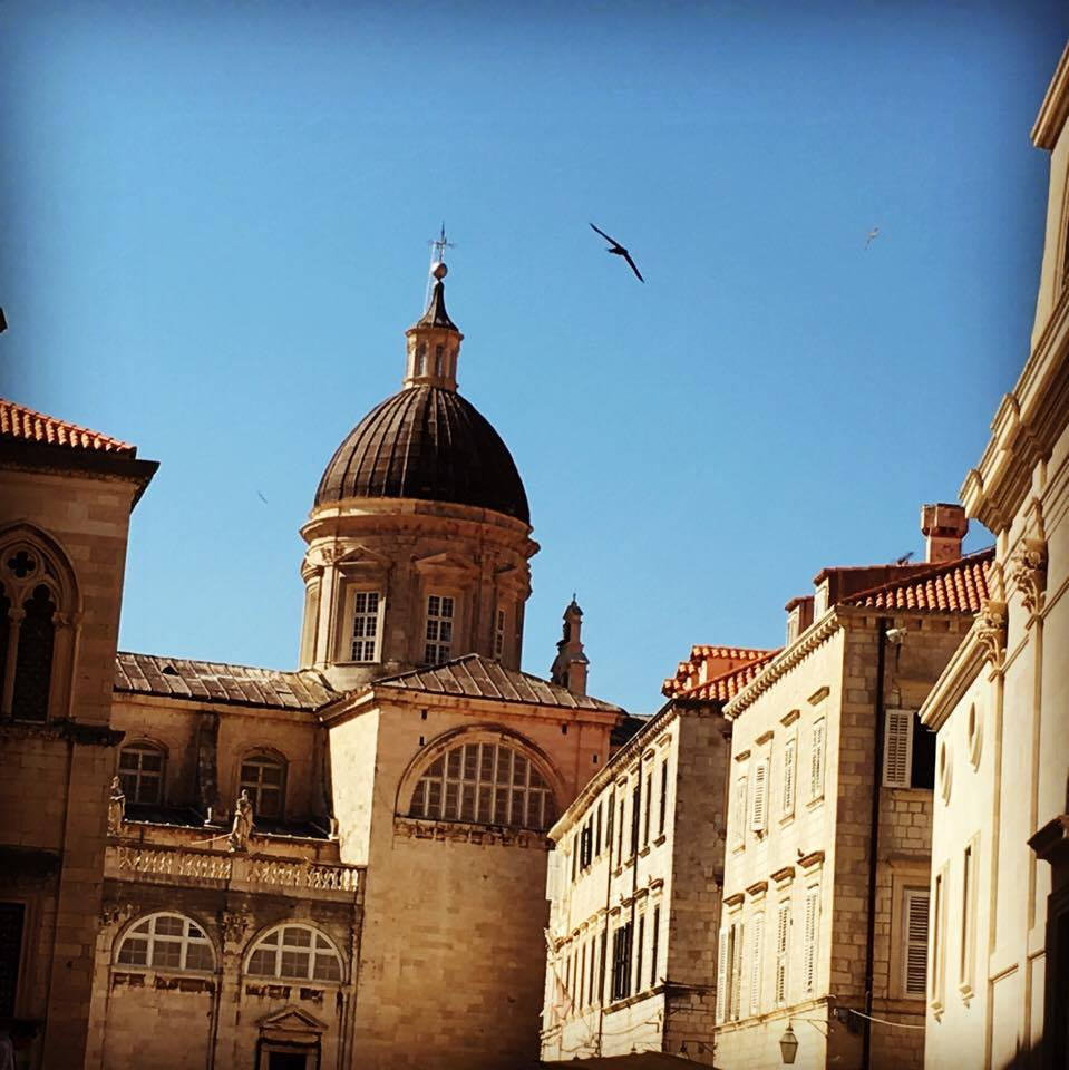 bell-tower in DubrovnikBest things to do in Dubrovnik featured by international travel blog, Tracy's Travels in Time