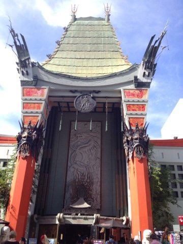 chinese theatre Los Angeles a day on the rastabus