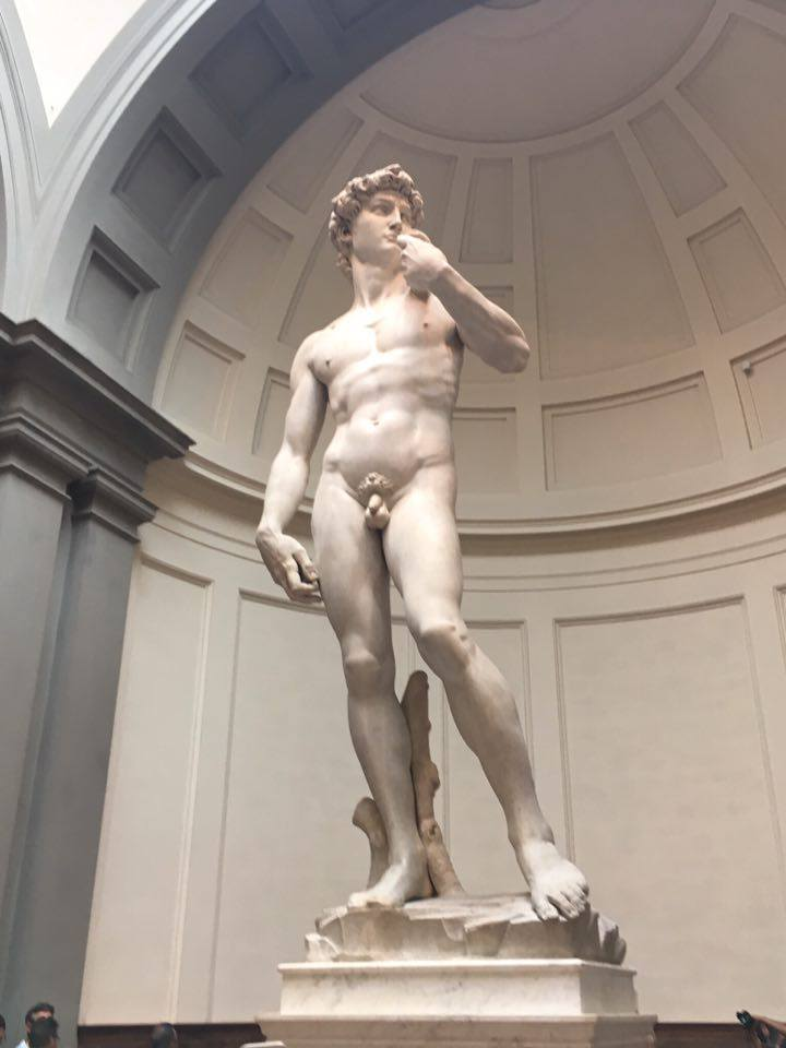 david IN FLORENCE ITALY