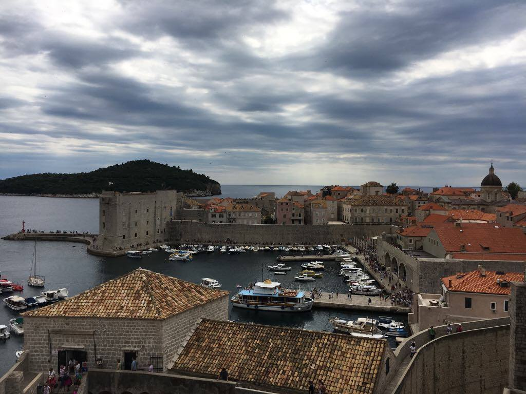 harbour-and-lokrumBest things to do in Dubrovnik featured by international travel blog, Tracy's Travels in Time