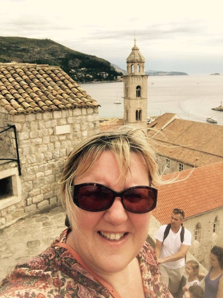 it-was-hot walking the wallsBest things to do in Dubrovnik featured by international travel blog, Tracy's Travels in Time