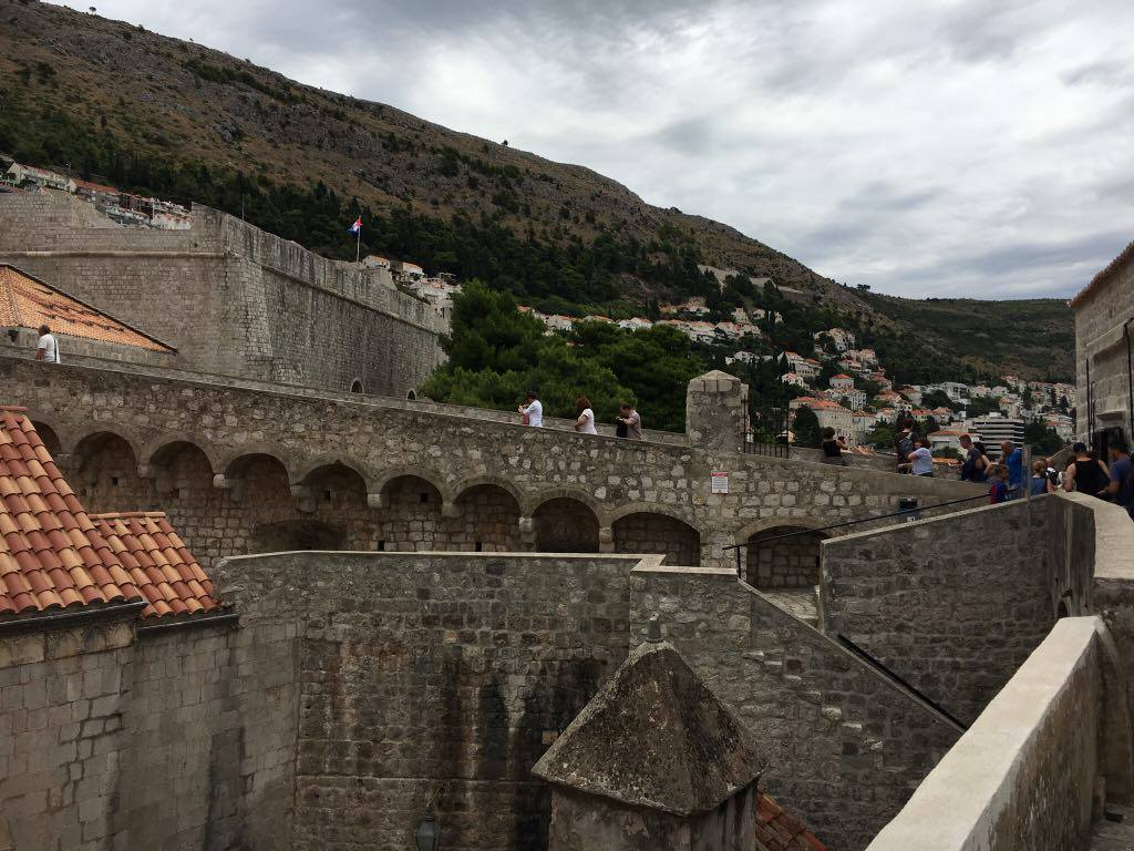 Dubrovnik wallsBest things to do in Dubrovnik featured by international travel blog, Tracy's Travels in Time