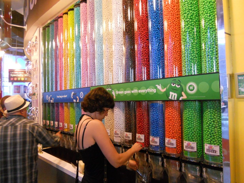 M and M store New York