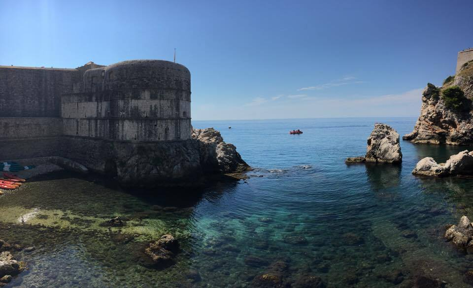 Outside the walls of the city of Dubrovnik | Best things to do in Dubrovnik featured by international travel blog, Tracy's Travels in Time