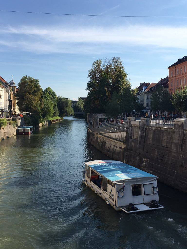 river-cruise in Ljubljana