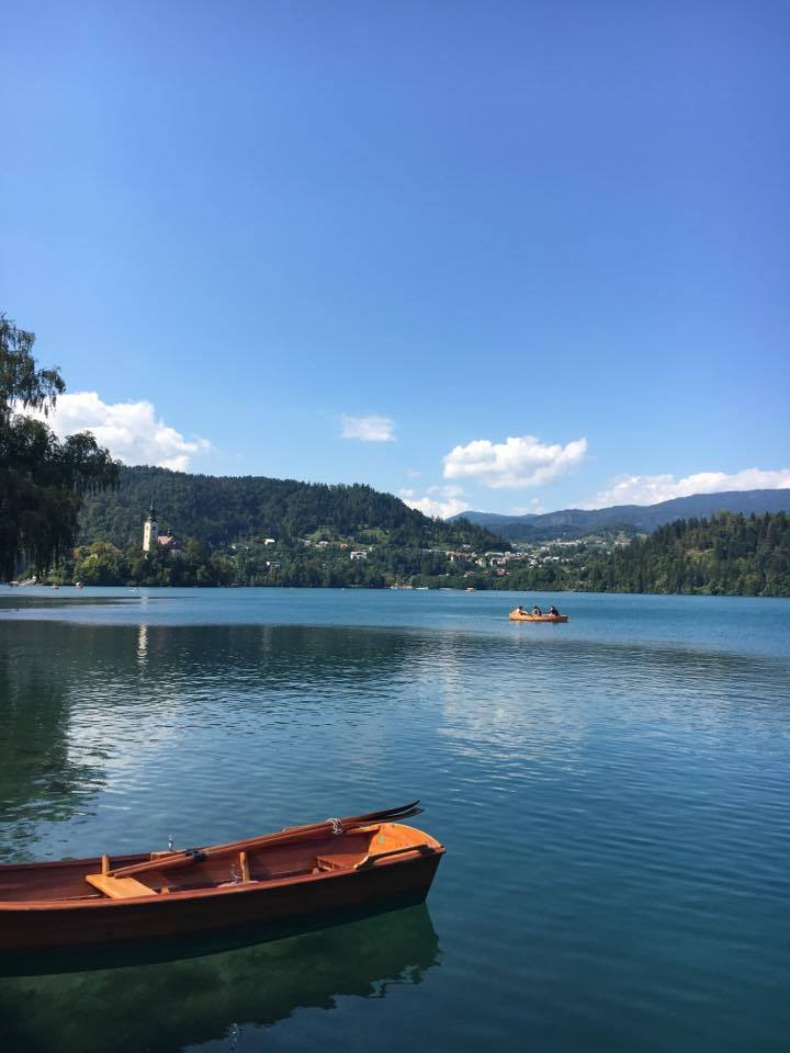 rowing-boat Lake Bled