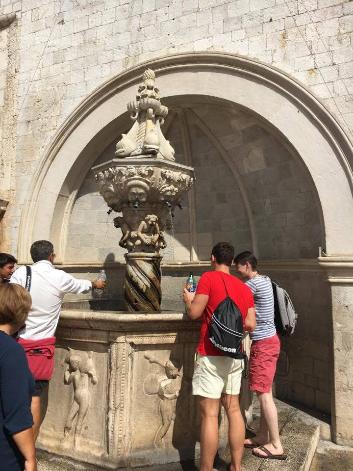 little Onofrio fountainBest things to do in Dubrovnik featured by international travel blog, Tracy's Travels in Time