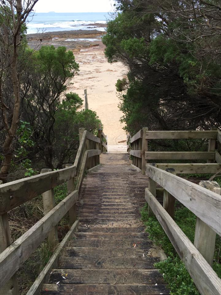 steps to beach in Melbourne - an insiders guide to Melbourne