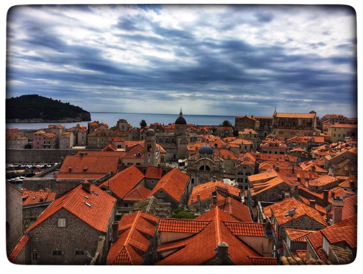the roofs of dubrovnik | The Ultimate Croatia itinerary featured by top international travel blogger, Tracy's Travels in Time
