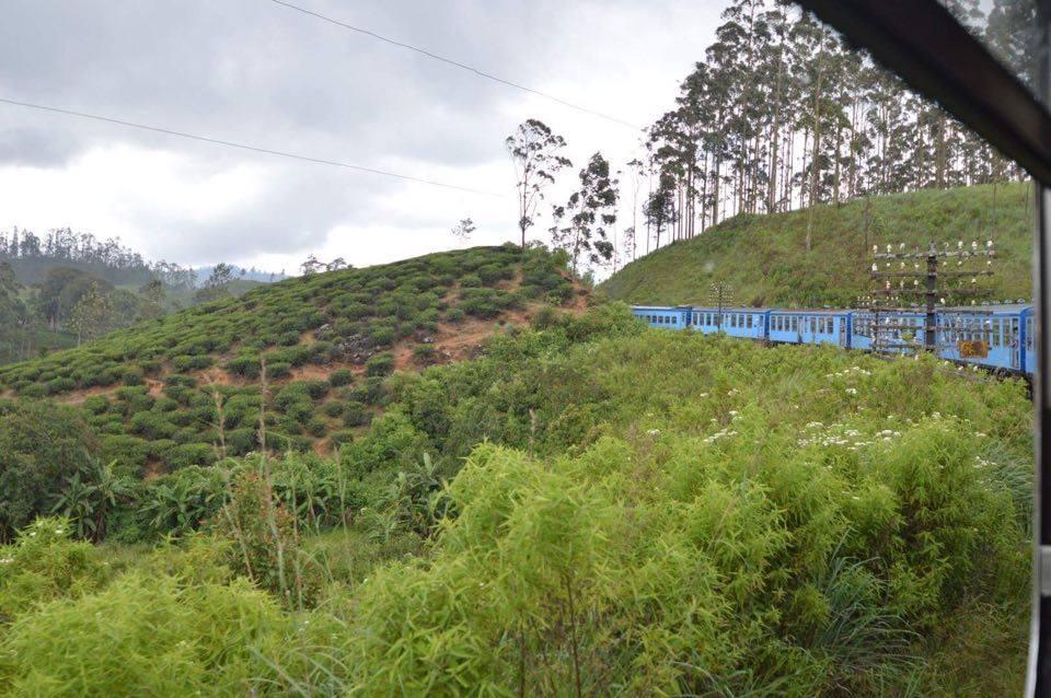 the-train Sri Lanka