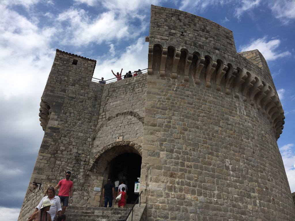 top-of-the-towerBest things to do in Dubrovnik featured by international travel blog, Tracy's Travels in Time