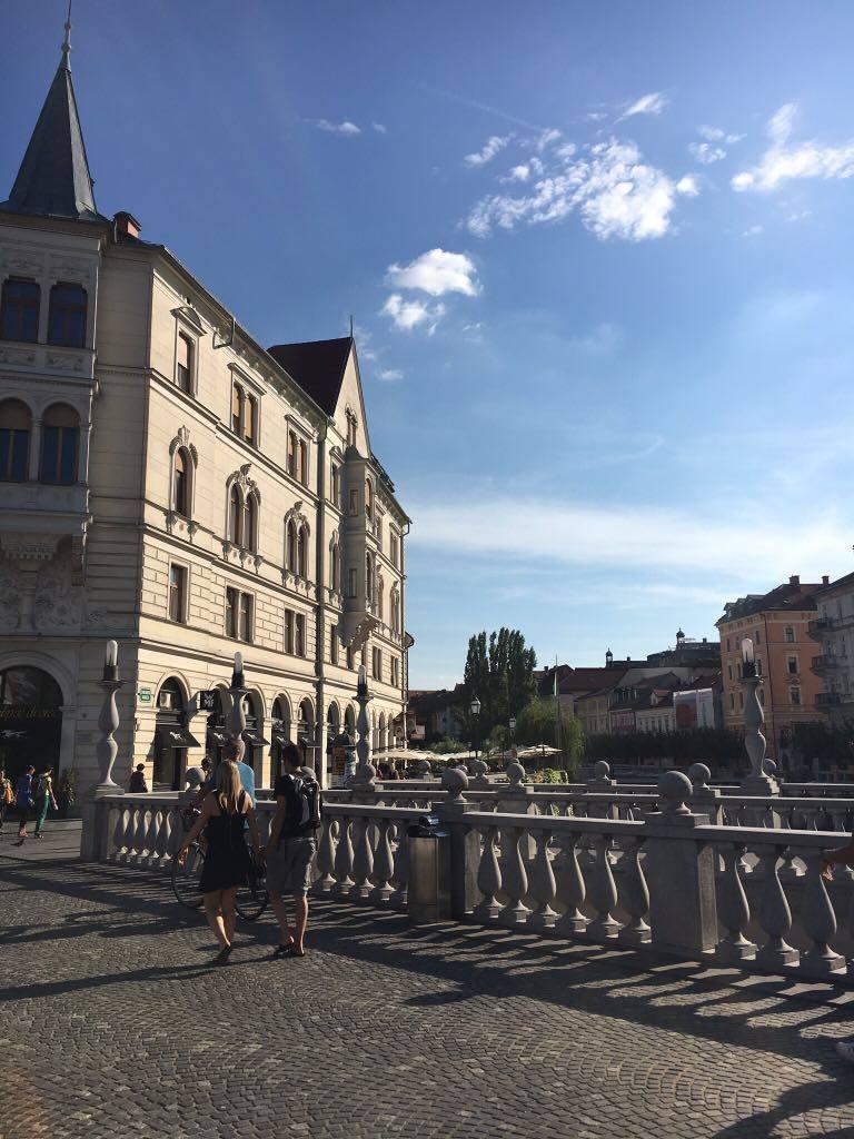 triple-bridge in Ljubljana