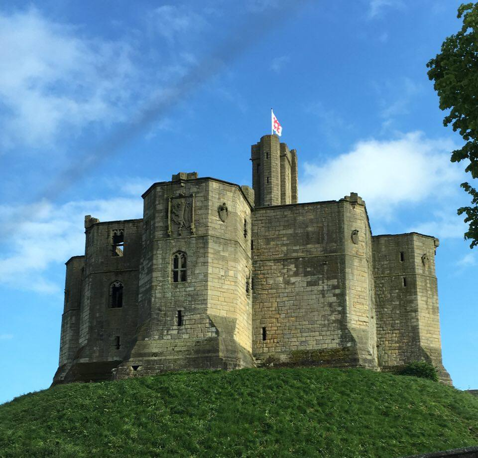 warkworth castle- planning a drive up the Northumberland coastal route featured by international travel blog, Tracy's Travels in Time