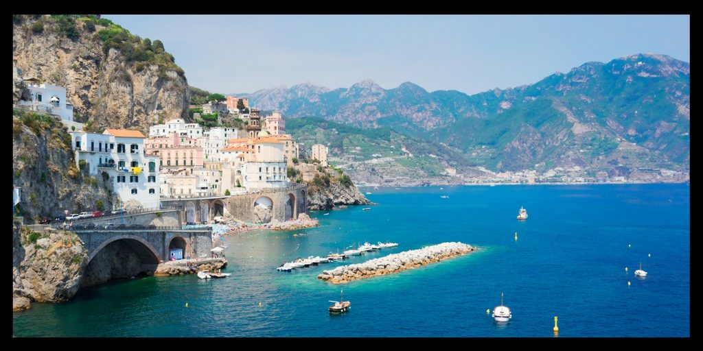Top 20 Beautiful Places in Europe to Visit featured by top international travel blogger, Tracy's Travels in Time: The Amalfi Coast in Italy