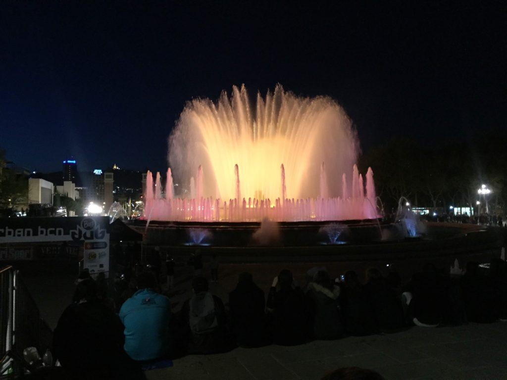 madrid water show