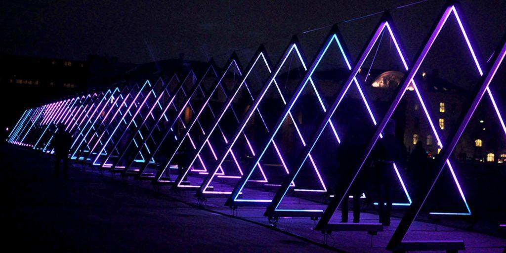 Copenhagen Light show