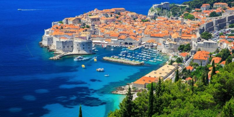 Croatia itinerary - view of Dubrovnik