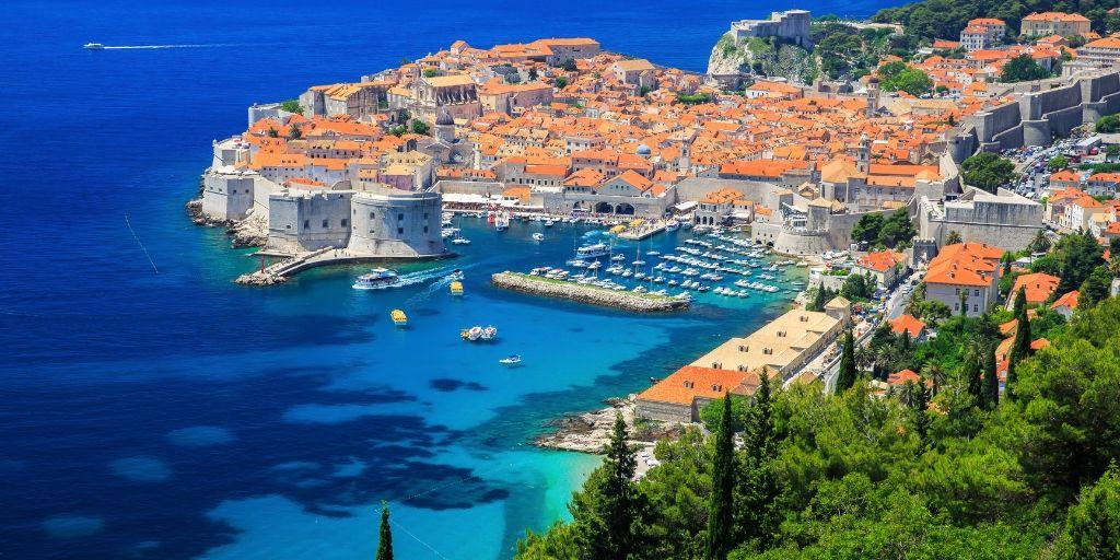 Croatia itinerary - view of Dubrovnik