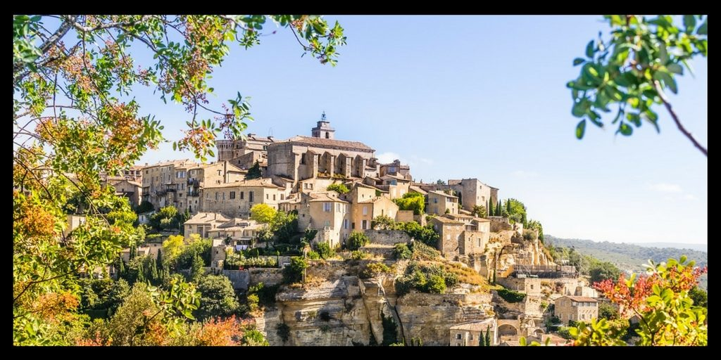 Top 20 Beautiful Places in Europe to Visit featured by top international travel blogger, Tracy's Travels in Time: Gordes France