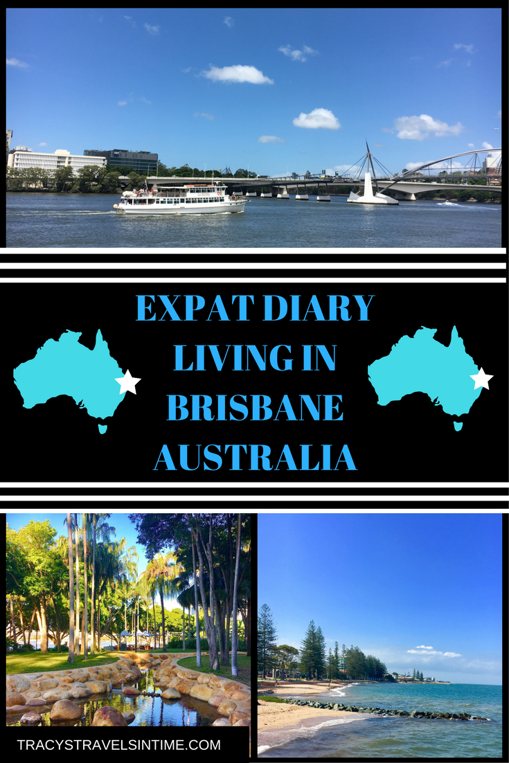 Living in Brisbane Australia with photographs of Brisbane South Bank and Redcliffe
