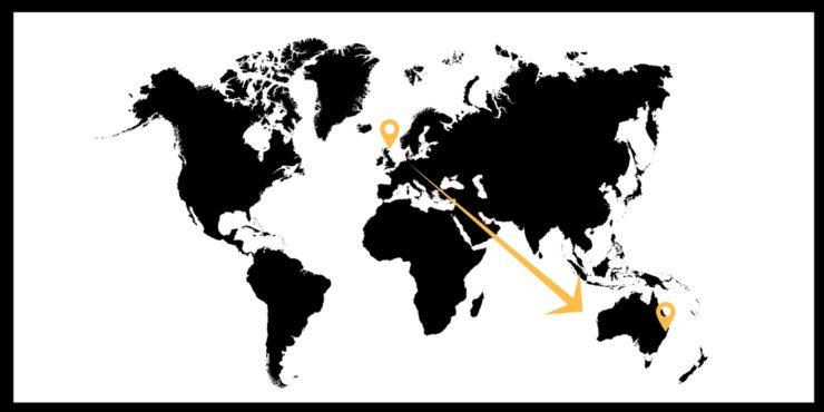 Map Of Australia Vs Uk.Living In Australia Dreams Vs Reality Tracy S Travels In Time