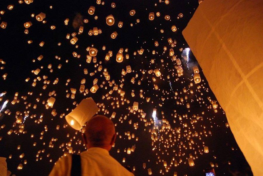 Thailand light festival