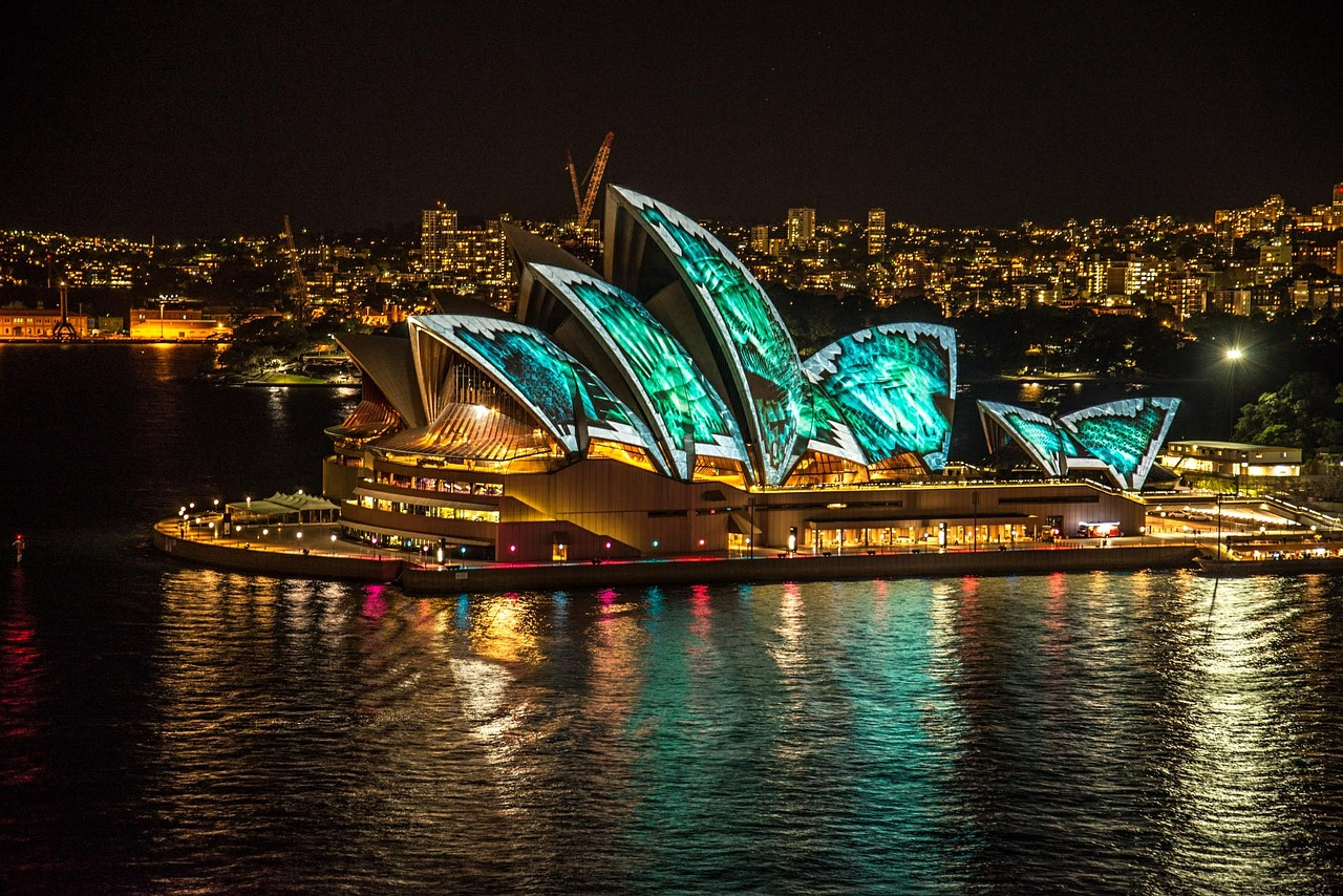 Light shows - Vivid Sydney
