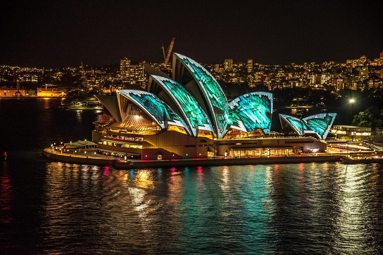 Light shows - Vivid Sydney