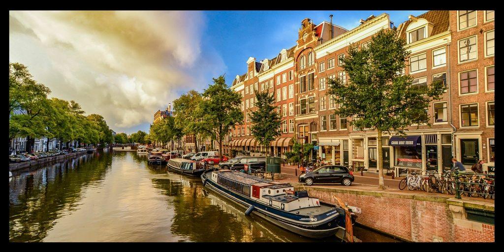 Top 20 Beautiful Places in Europe to Visit featured by top international travel blogger, Tracy's Travels in Time: Amsterdam Netherlands
