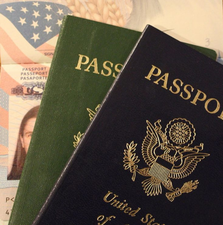 passports from different countries