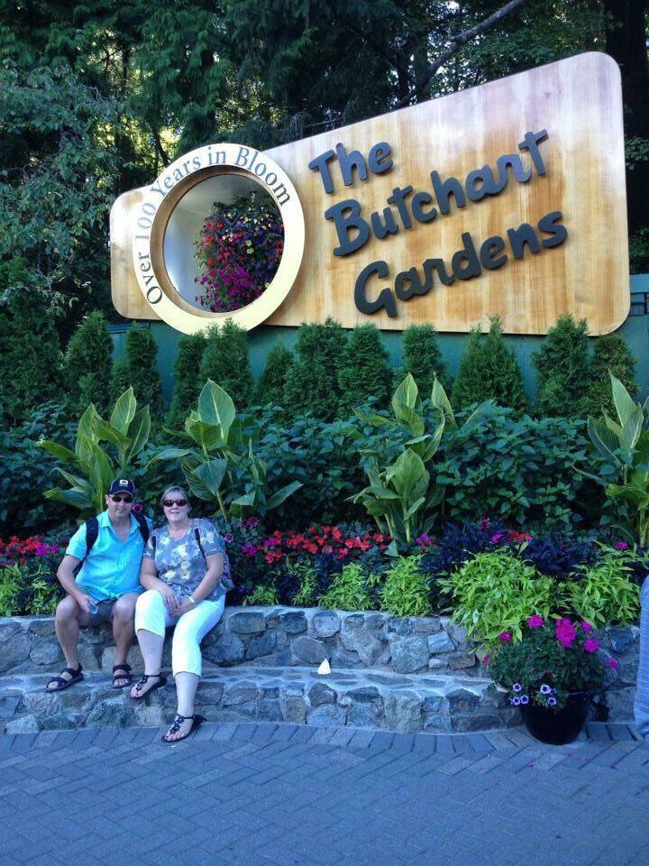 A visit to Butchart Gardens