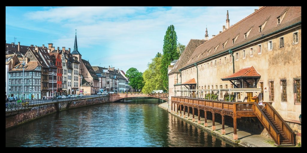 Top 20 Beautiful Places in Europe to Visit featured by top international travel blogger, Tracy's Travels in Time: strasbourg France