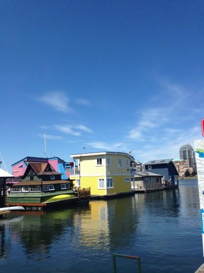 Fisherman's wharf Vancouver Island