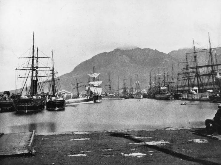 cape town south africa in the 1800s