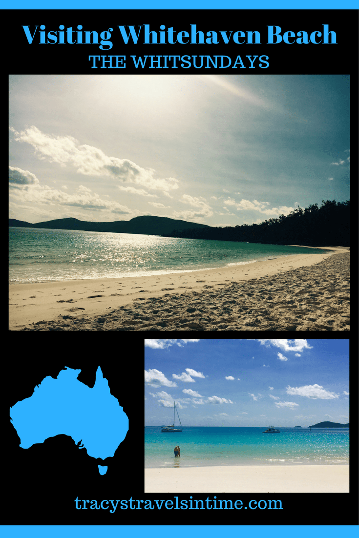 VISITING WHITEHAVEN BEACH