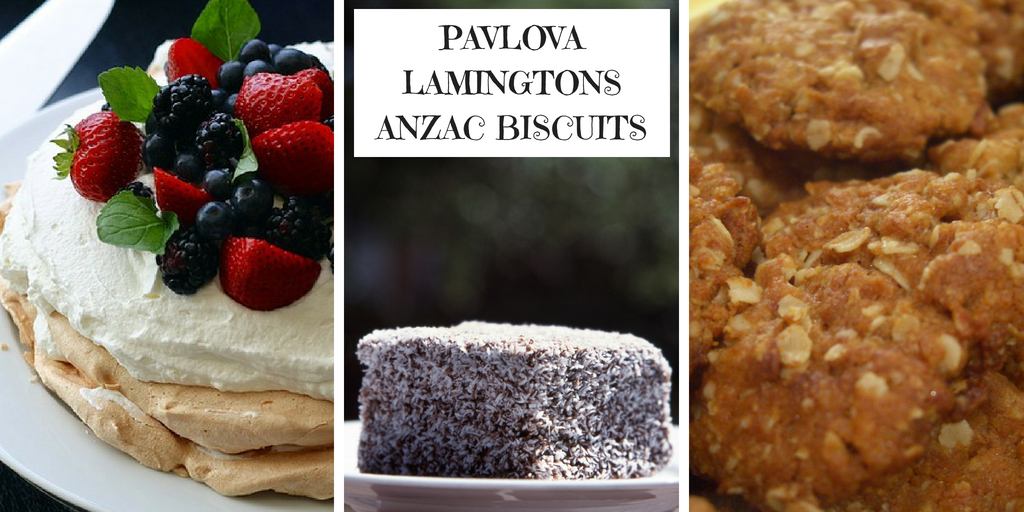 PAVOLVA LAMINGTONS AND ANZAC BISCUITS