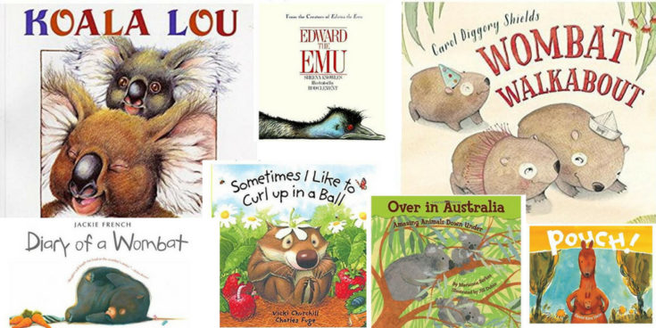 BOOKS ABOUT AUSTRALIAN ANIMALS TO SHARE WITH CHILDREN