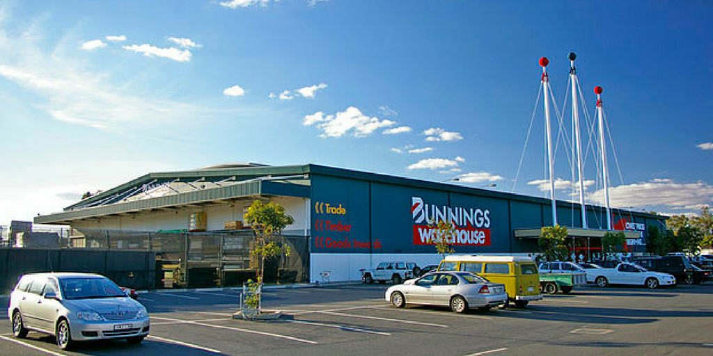 bunnings diy store - shopping in australia